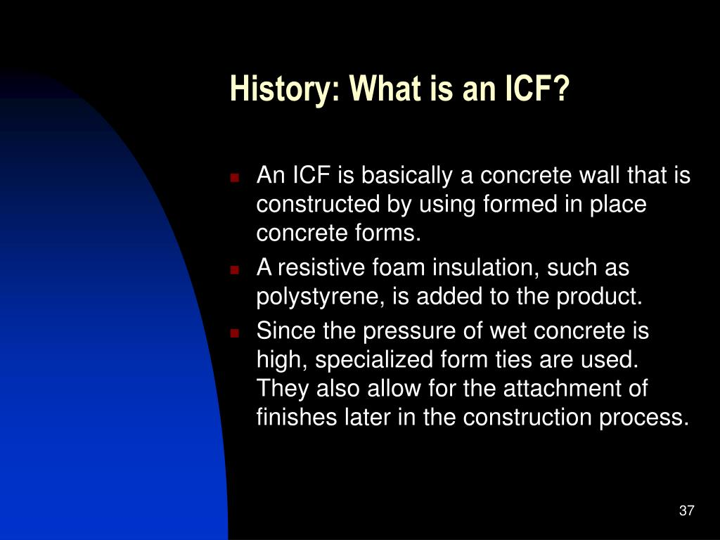 History: What is an ICF?
