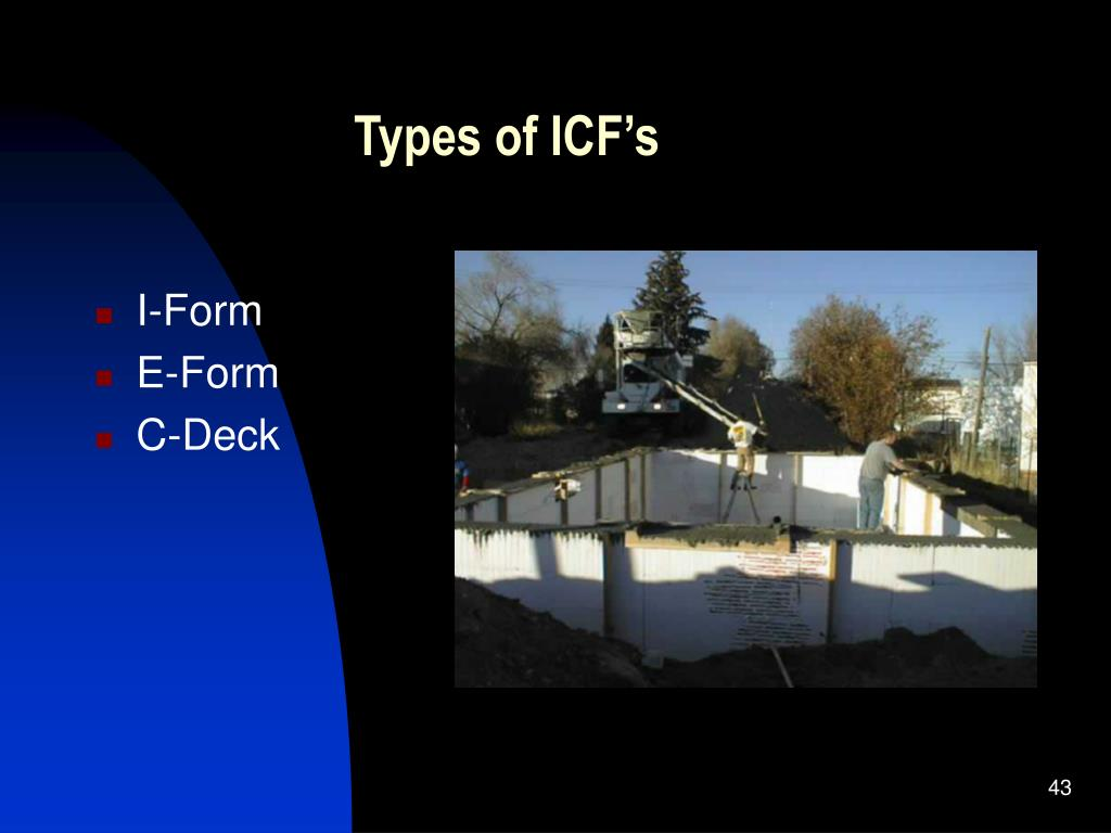 Types of ICF's