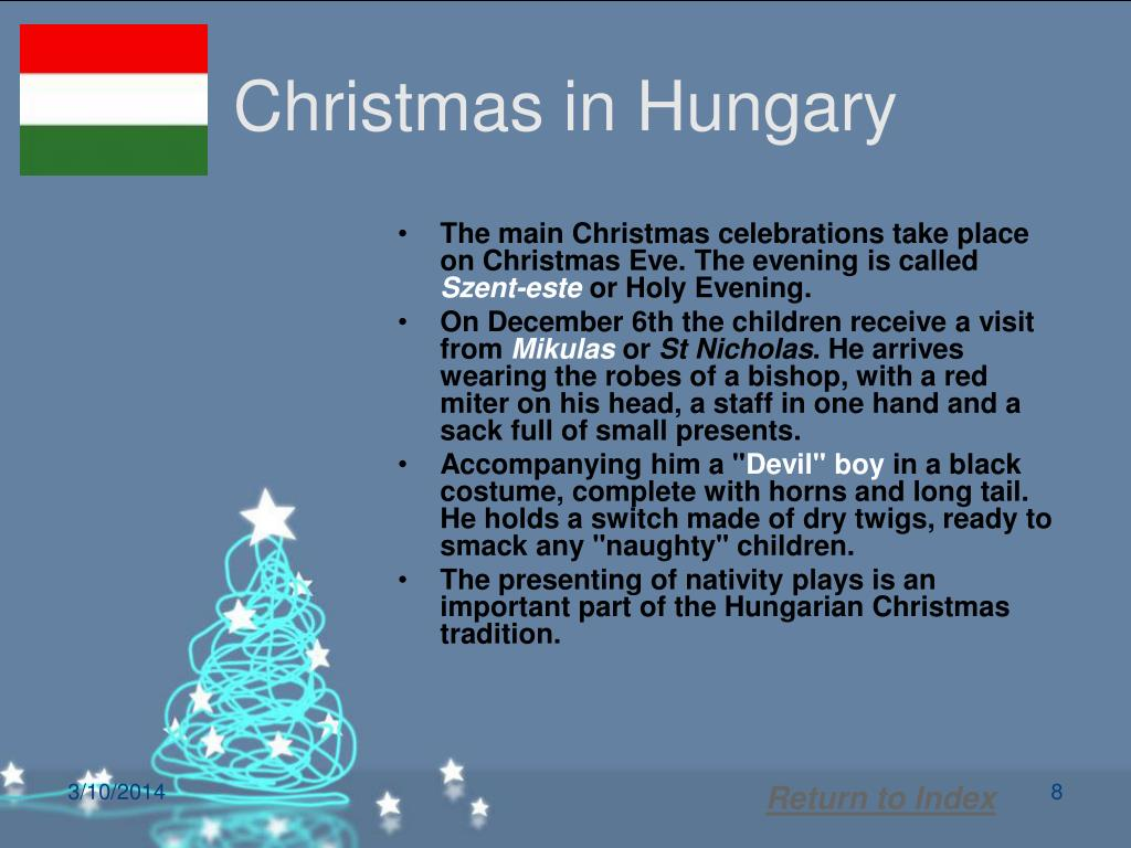 Christmas in Hungary