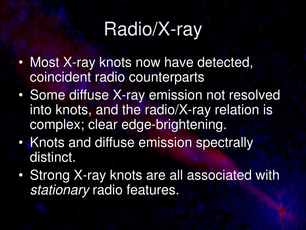 Radio/X-ray