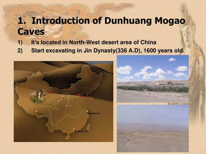 1 introduction of dunhuang mogao caves