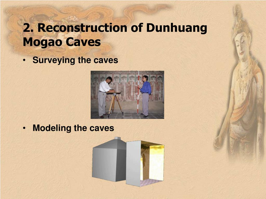 2. Reconstruction of Dunhuang Mogao Caves