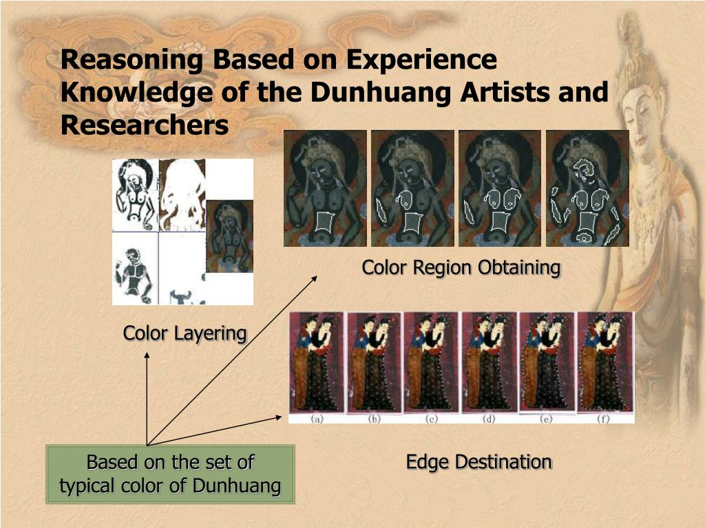 Reasoning Based on Experience Knowledge of the Dunhuang Artists and Researchers