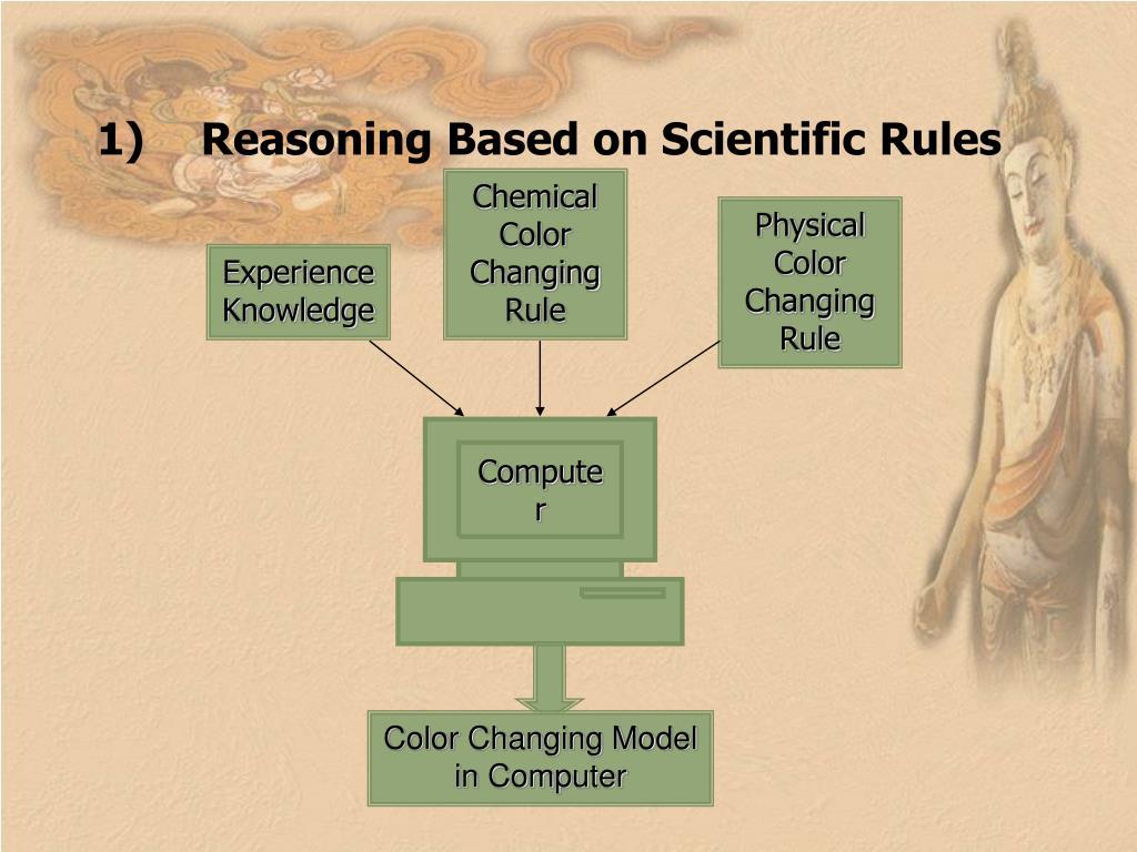 Reasoning Based on Scientific Rules