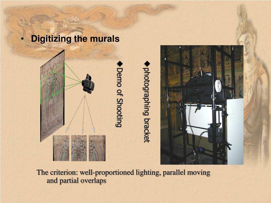 Digitizing the murals