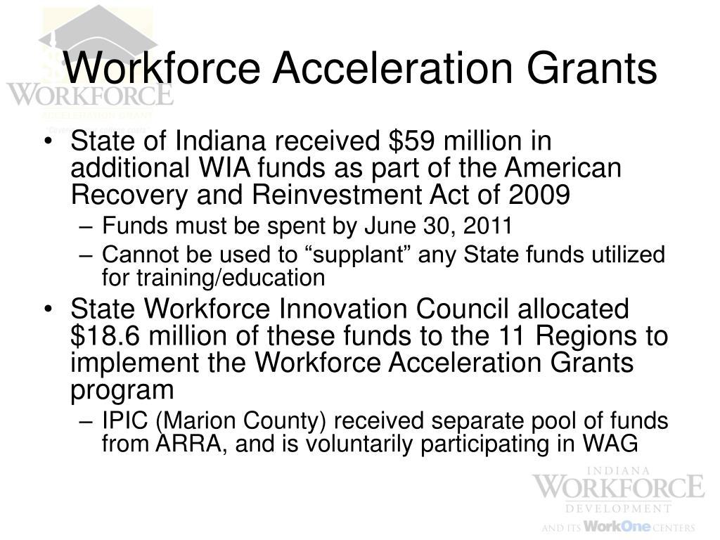 Workforce Acceleration Grants