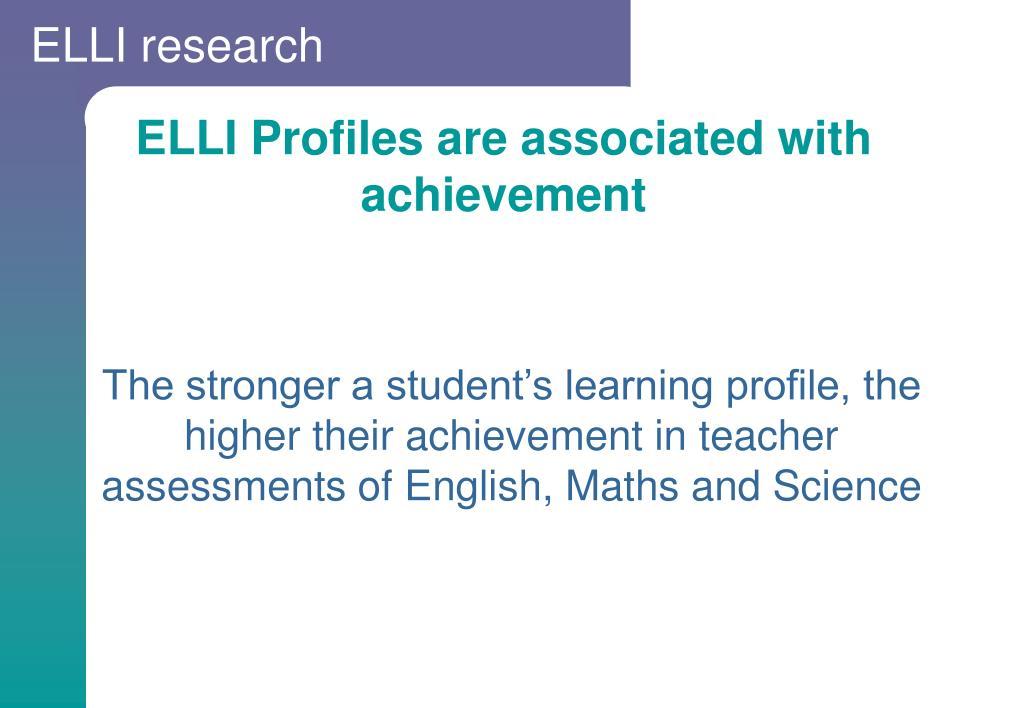 ELLI research