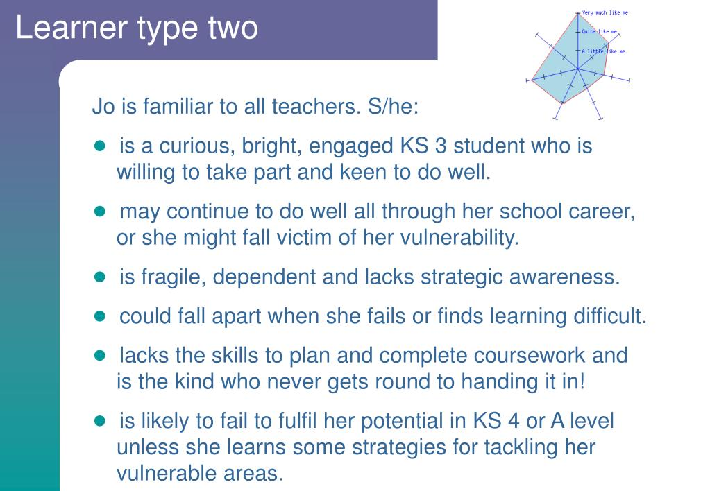 Learner type two