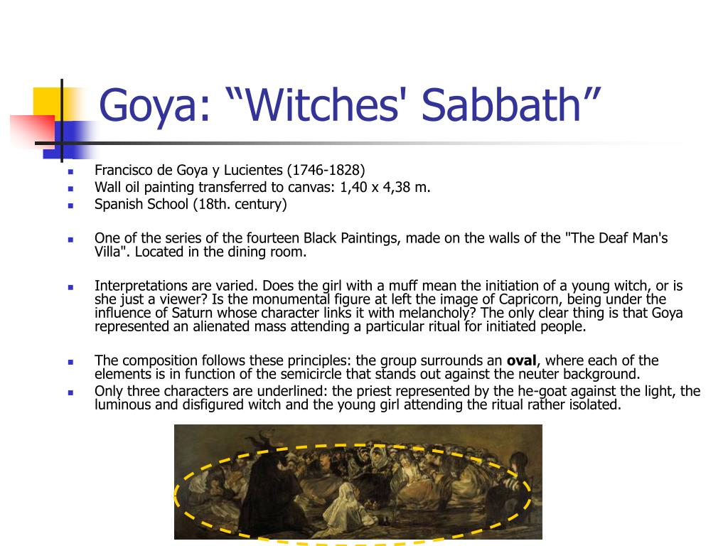 """Goya: """"Witches' Sabbath"""""""