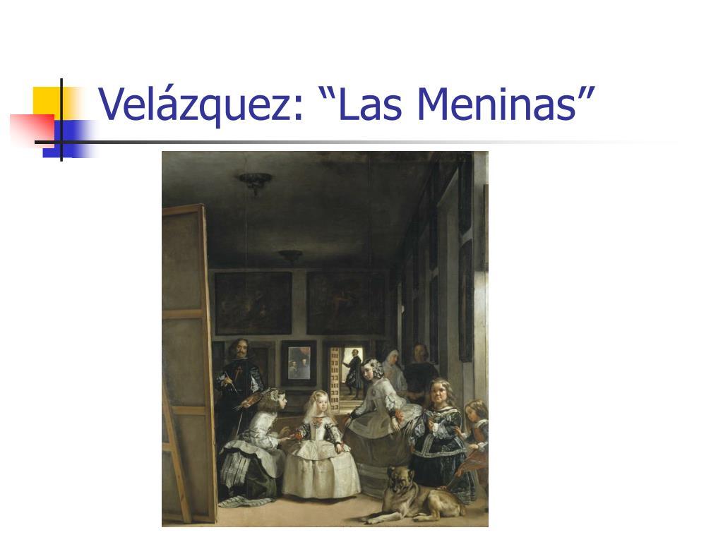 "Velázquez: ""Las Meninas"""