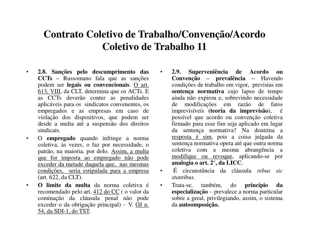 2.8. Sanções pelo descumprimento das CCTs –