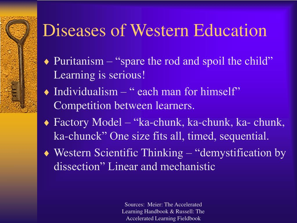 Diseases of Western Education