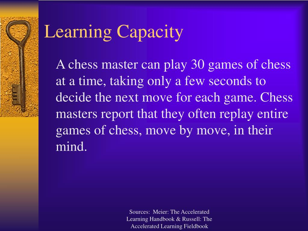 Learning Capacity