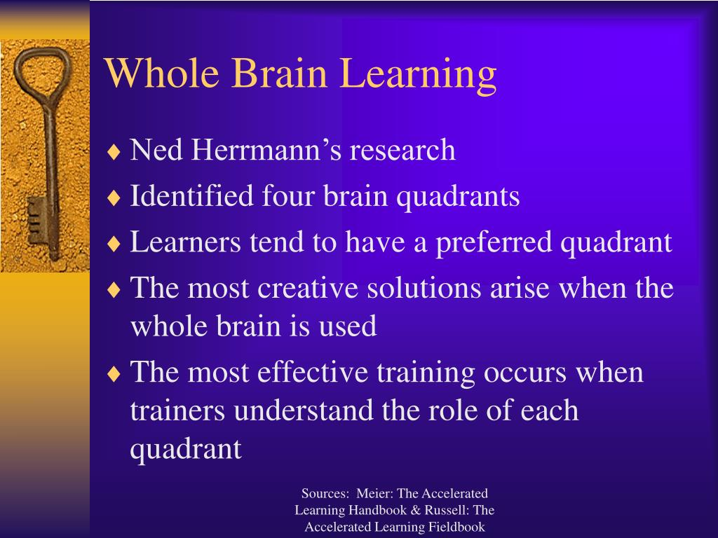 Whole Brain Learning