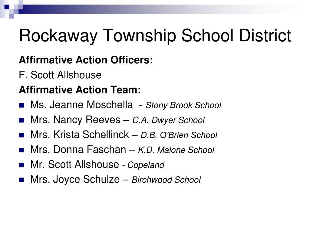 Rockaway Township School District