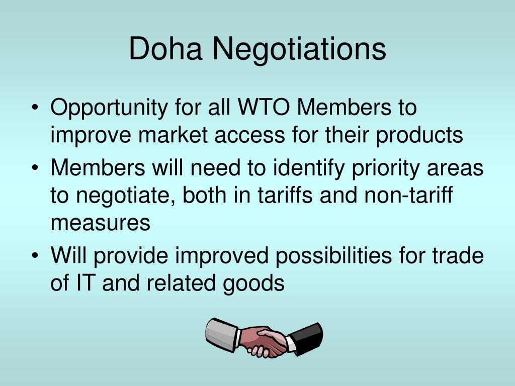 Doha Negotiations