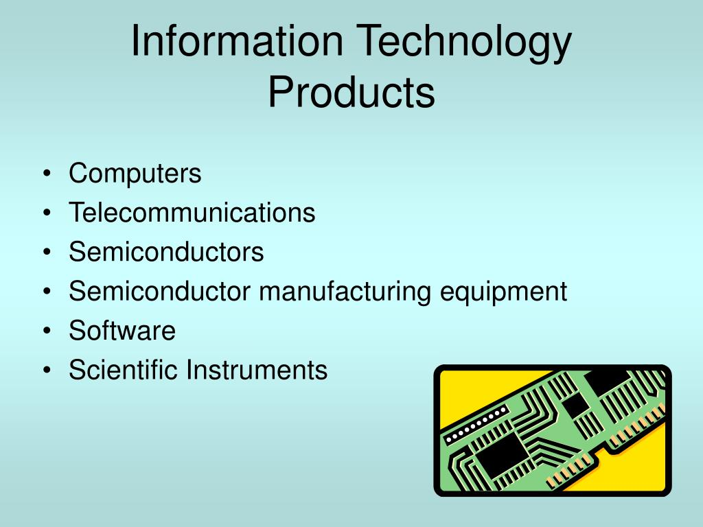 Information Technology Products