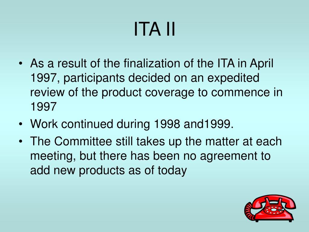 ITA II