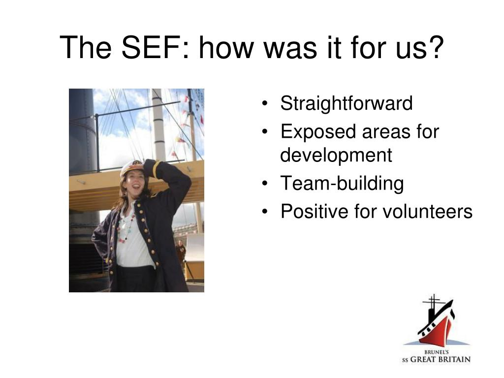 The SEF: how was it for us?