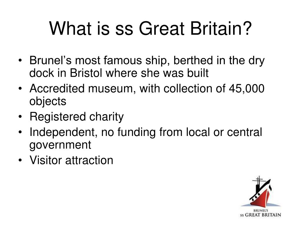 What is ss Great Britain?