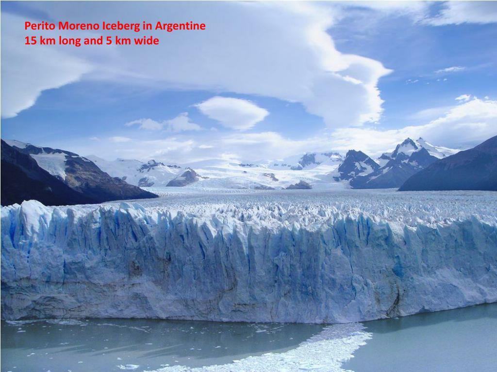 Perito Moreno Iceberg in Argentine