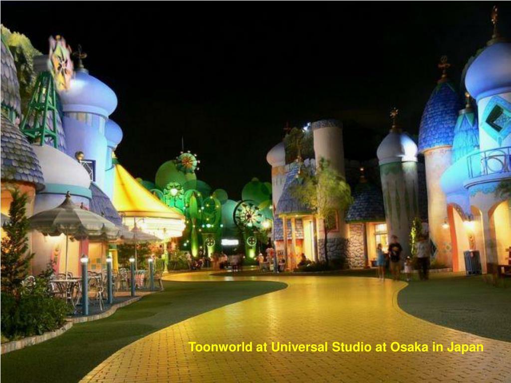 Toonworld at Universal Studio