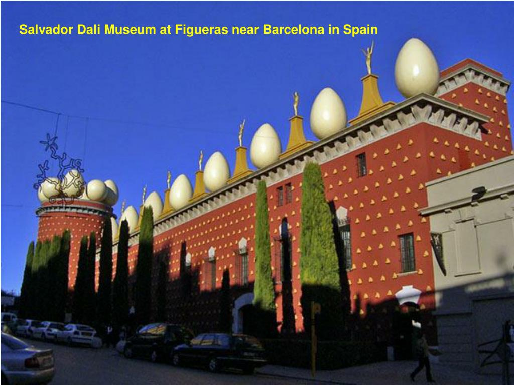 Salvador Dali Museum at Figueras near Barcelona in Spain