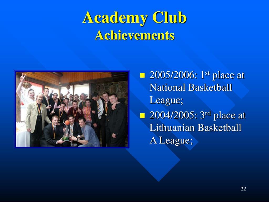 Academy Club