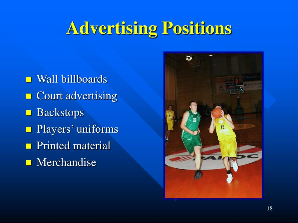 Advertising Positions