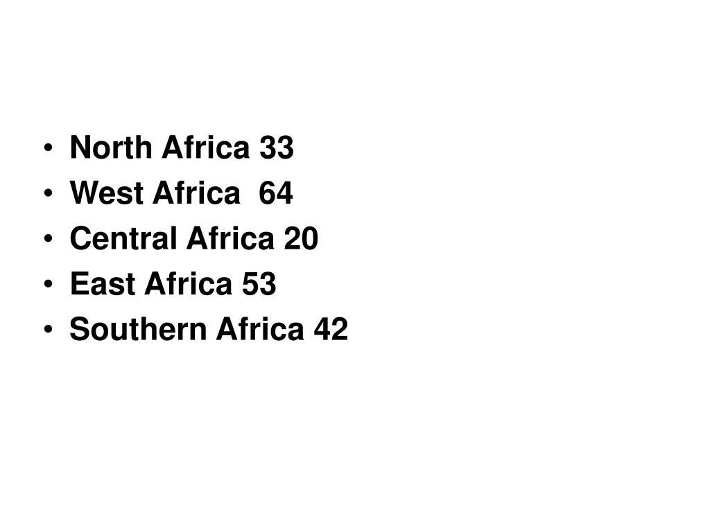 North Africa 33