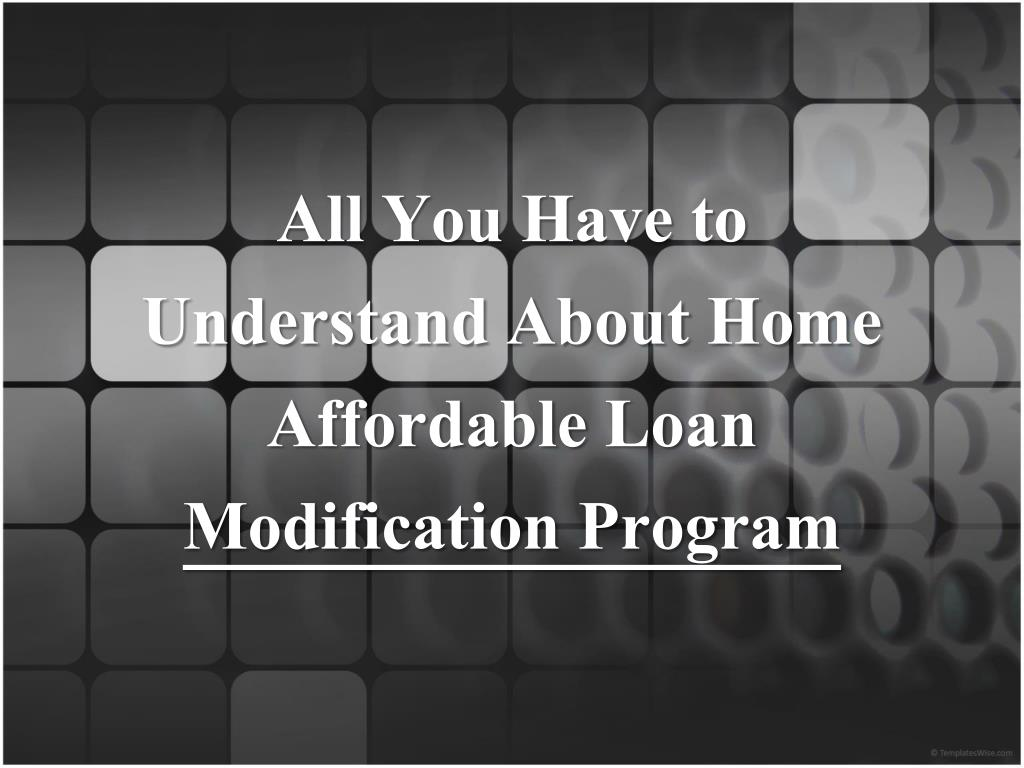All You Have to Understand About Home Affordable Loan
