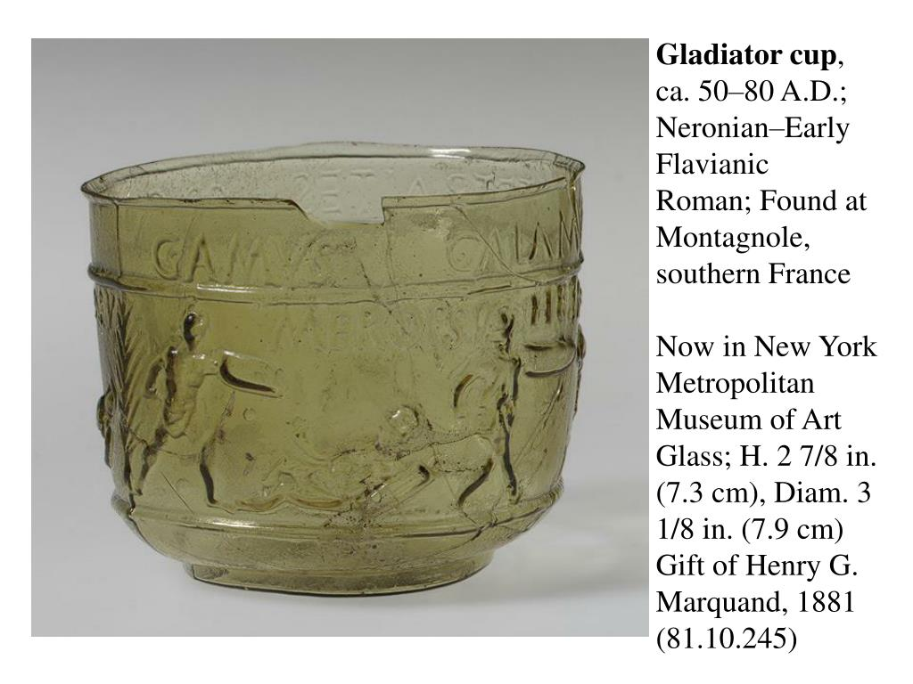 Gladiator cup