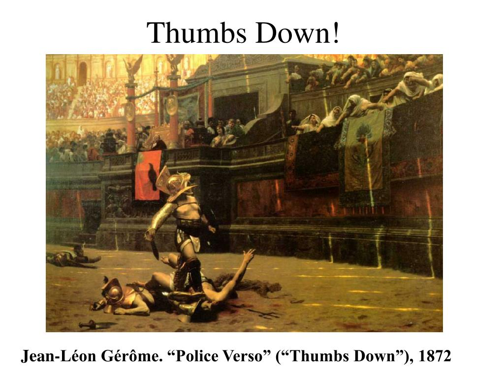 Thumbs Down!