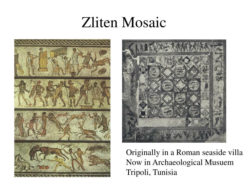 Zliten Mosaic