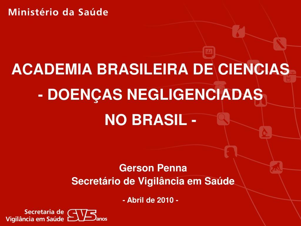 ACADEMIA BRASILEIRA DE CIENCIAS