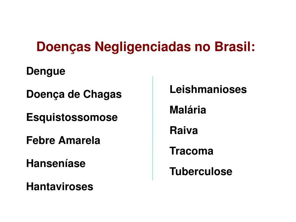 Doenças Negligenciadas no Brasil: