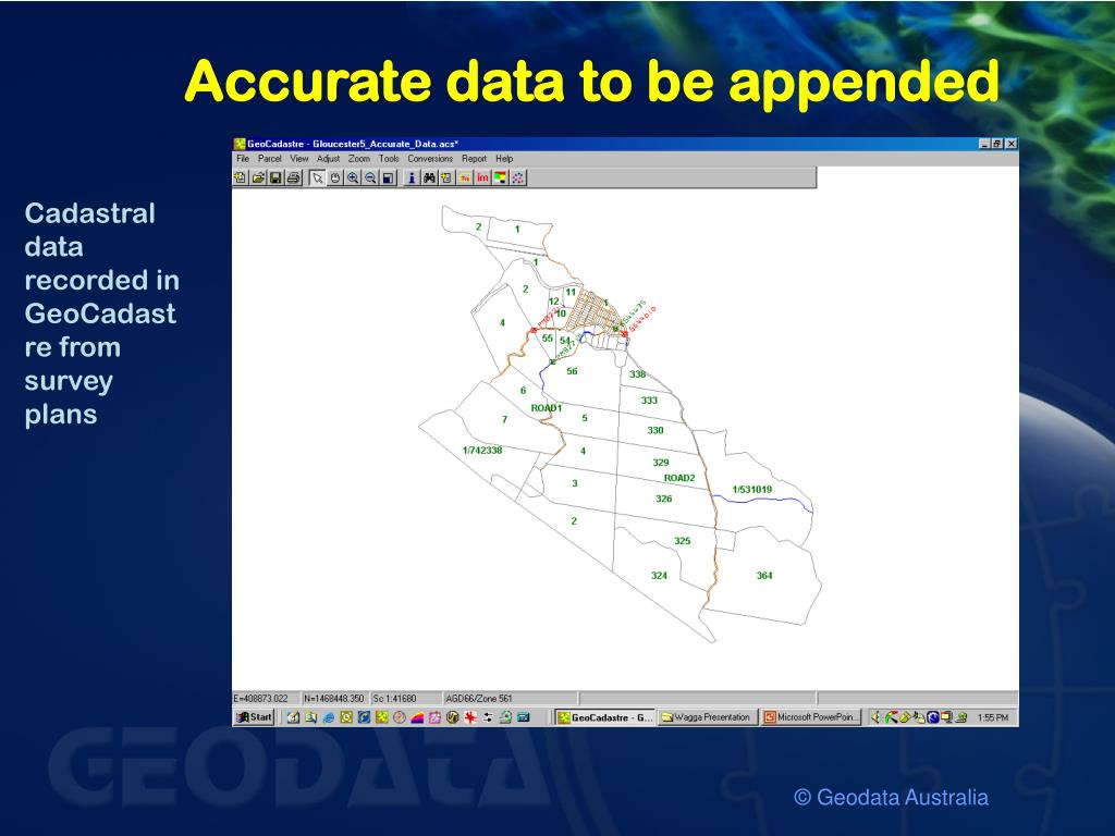 Accurate data to be appended