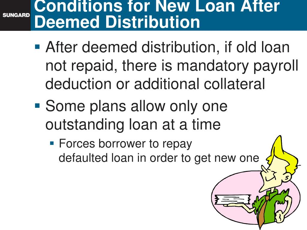 Conditions for New Loan After Deemed Distribution