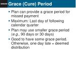 grace cure period