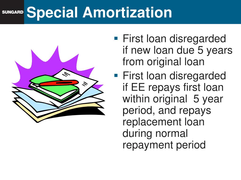 Special Amortization