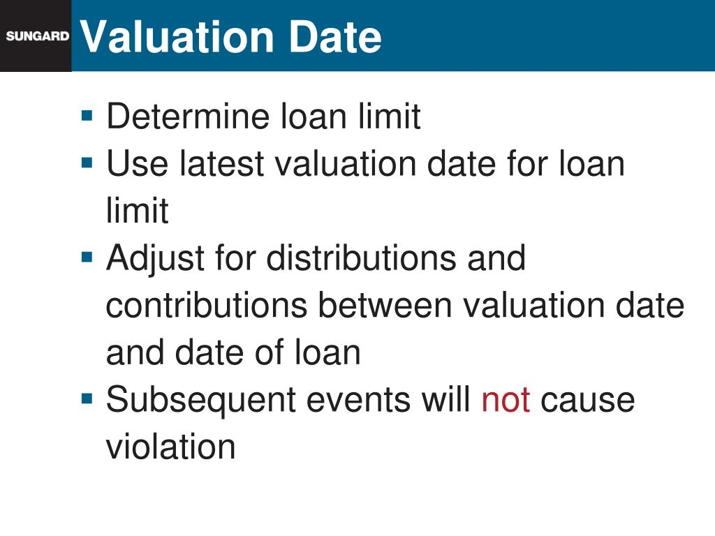 Valuation Date