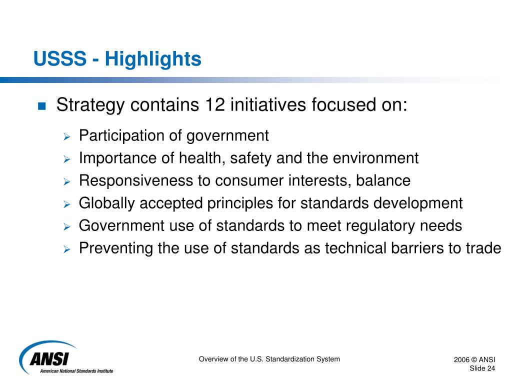 USSS - Highlights