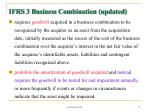 ifrs 3 business combination updated71