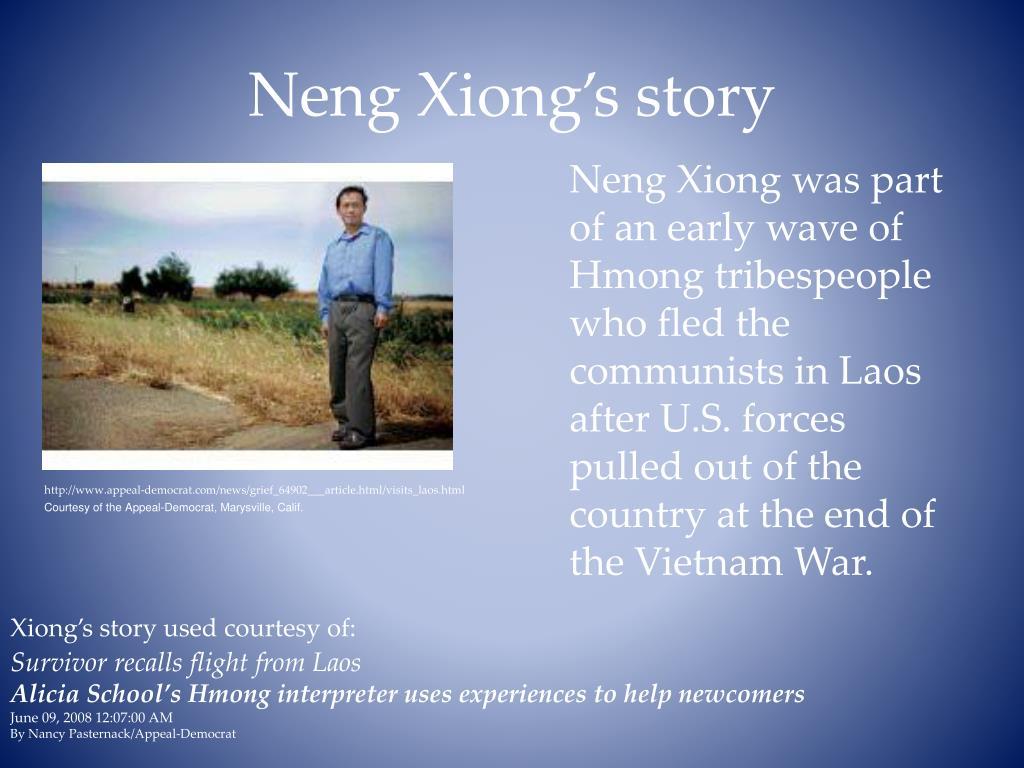 Neng Xiong's story