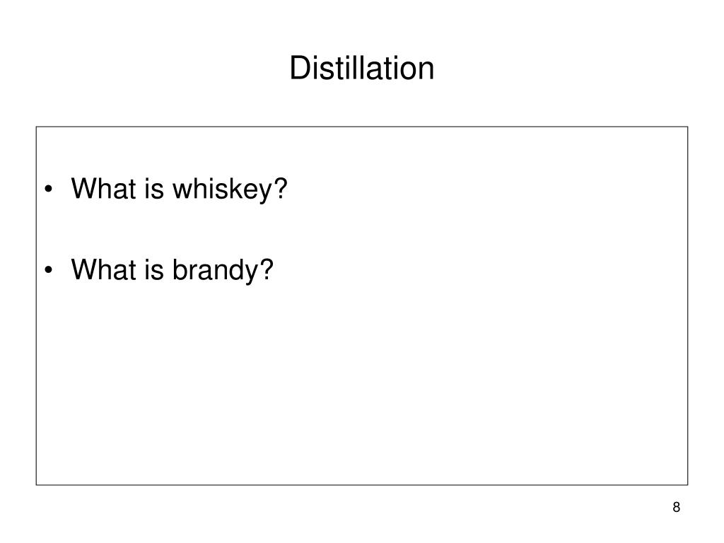 What is whiskey?