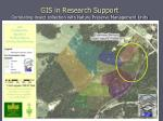 gis in research support correlating insect collection with nature preserve management units