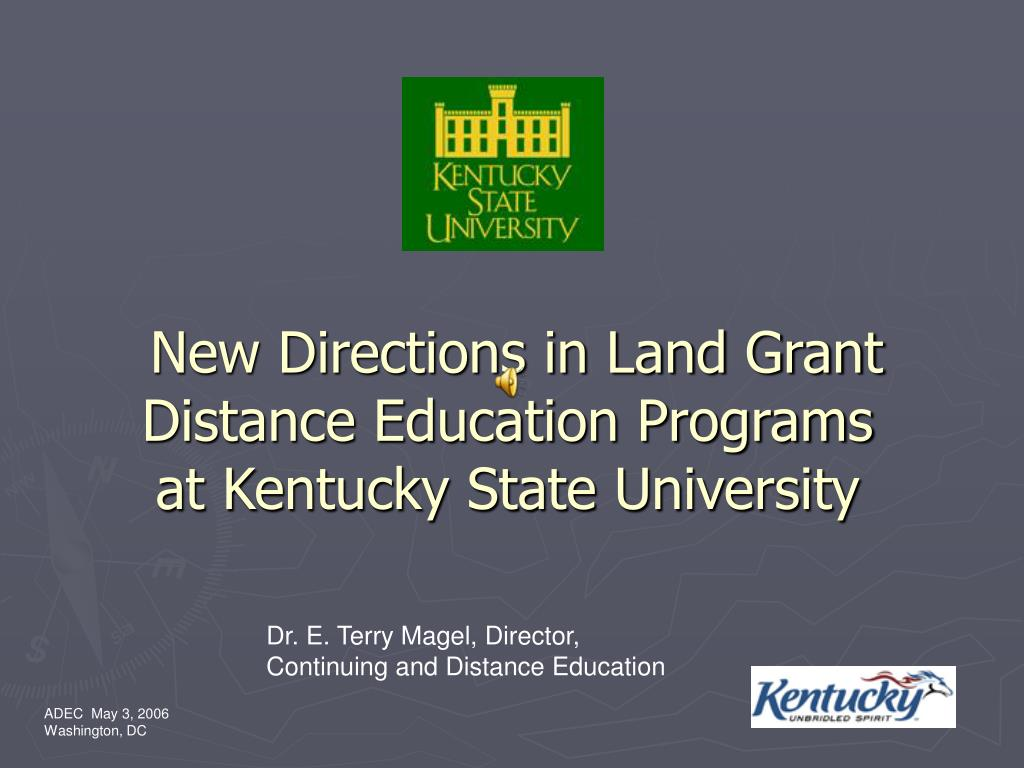 New Directions in Land Grant Distance Education Programs