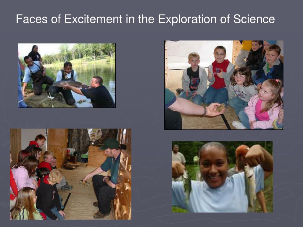 Faces of Excitement in the Exploration of Science