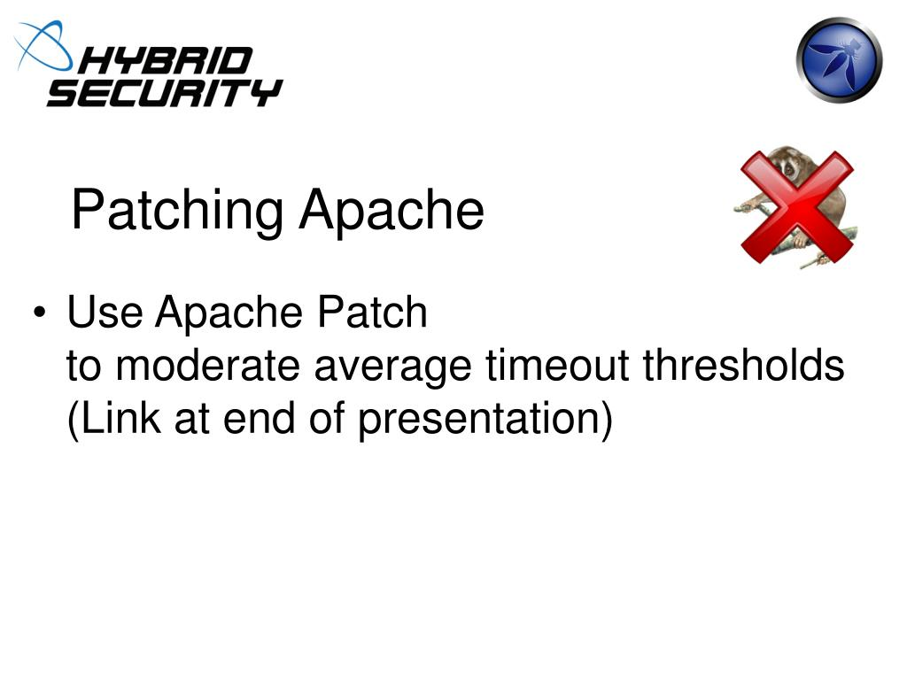 Patching Apache