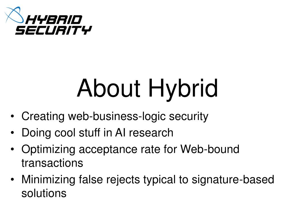 About Hybrid
